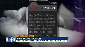 News video: Hillsborough teen: Apple Watch saved my life