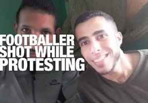 News video: The Palestinian Footballer Who May Never Play Again: The Human Impact of Gaza's Land Day Protests
