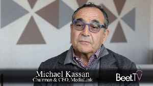 News video: Holding Companies In Survival Of The Fittest: MediaLink's Kassan