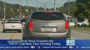 News video: All New Cars Will Soon Be Required To Have Backup Cameras