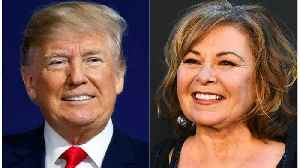 News video: Roseanne Barr Defends Her Vocal Trump Support On Fallon