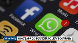 News video: Whatsapp Co-Founder to Leave Facebook
