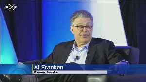 News video: Franken Makes 1st Public Appearance Since Leaving U.S. Senate