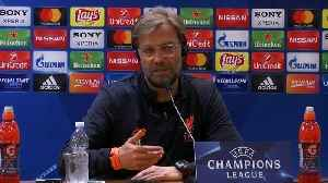 News video: Klopp issues rallying cry ahead of Liverpool's Roma test