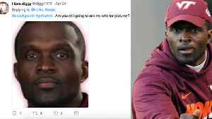 News video: Virginia Tech Football Coach EXPOSED By Husband Claiming He Was Sleeping With His Wife!