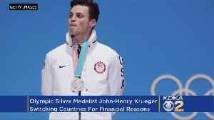 News video: Olympic Silver Medalist John-Henry Krueger Switching Countries