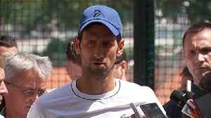 News video: Djokovic vows to keep fighting to rediscover form