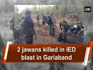 News video: 2 jawans killed in IED blast in Gariaband