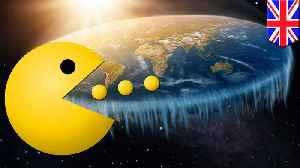 News video: Flat earthers reveal insane new Pac-Man effect theory