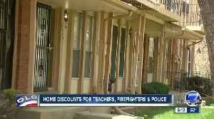 News video: This federal housing program helps teachers, first responders buy affordable homes