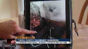 News video: Cheap phone chargers may be sparking fires