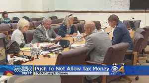 News video: Winter Olympics Opponents Push Ballot Initiative To Let Voters Decide