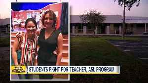 News video: Pasco students fight to restore ASL program