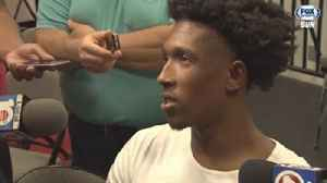 News video: Miami Heat exit interview: Josh Richardson on his growth in 2017-18