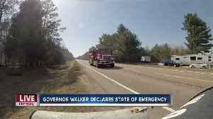 Walker declares state of emergency because of wildfire conditions