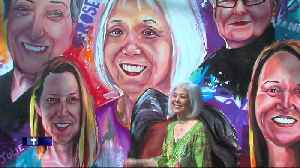 News video: 3-D mural celebrates women who have been patients at Beaumont Hospital