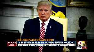 Tensions rising in Russia investigation
