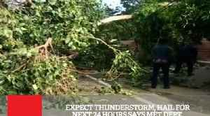 News video: Expect Thunderstorm, Hail For Next 24 Hours Says MET Dept