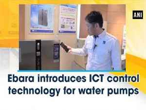 News video: Ebara introduces ICT control technology for water pumps