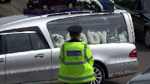Burglar's funeral cortege drives through Hither Green [Video]