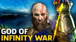 News video: How To Get God Of War's Infinity Gauntlet Easter Egg