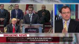 News video: NBC retracts! Cohen wasn't 'wire-tapped,' They were monitoring, not liistening