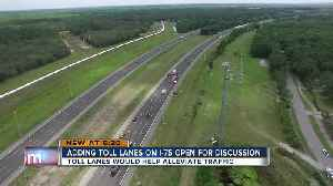 News video: FDOT: No toll lanes coming to I-275 in Tampa, but I-75 toll lanes now on the table