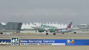 News video: Frontier Adds Two Flights From DIA To California