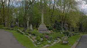 News video: Is this the most communist graveyard in the UK?