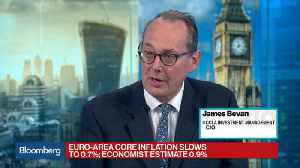 News video: CCLA's Bevan Says EU Inflation Data Is Significant Issue for Draghi