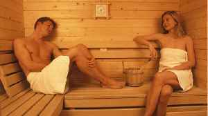 News video: Study Suggests Saunas Are Good For Cardiovascular Health