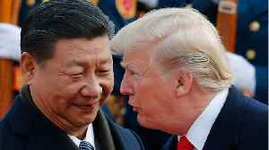 News video: Trump Praises Chinese President Xi As U.S. Delegates Arrive For Trade Talks