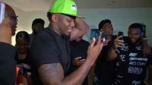 News video: Watch Rashaad Penny get the call from the Seattle Seahawks