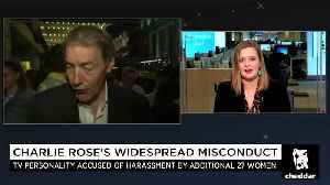 News video: How Charlie Rose Got Away With Harassment for Decades