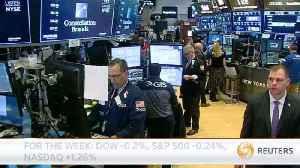 News video: Wall Street ends higher as data eases inflation fears
