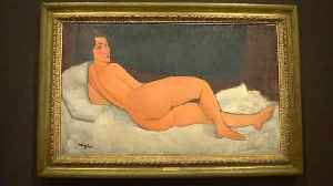 News video: Modigliani's largest nude up for grabs for $150 million