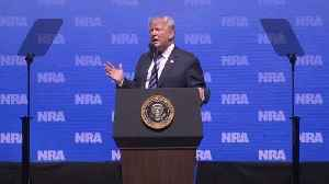 News video: Trump back in step with NRA after Parkland shooting