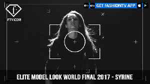 News video: Syrine from Tunisia Elite Model Look World Final 2017 | FashionTV | FTV