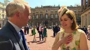 News video: Darcey Bussell recieves her damehood at Buckingham Palace