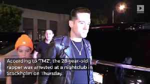 News video: G-Eazy Arrested in Sweden For Cocaine Possession and Alleged Assault
