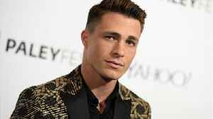 News video: Actor Colton Haynes Deletes Photos Of New Husband On Social Media