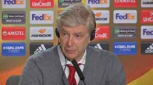 News video: Wenger very sad as Atletico ruin his Arsenal farewell