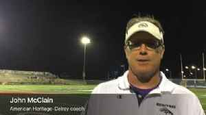 News video: American Heritage-Delray coach John McClain on reaching states