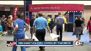 News video: Packet pickup for the mini marathon continues Saturday