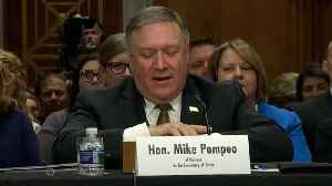 News video: Why Mike Pompeo's Hiring Options Are Limited