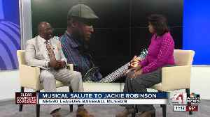 News video: Musical salute to Jackie Robinson