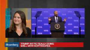 News video: Trump Vows to Uphold Gun Rights, Warns of Midterms