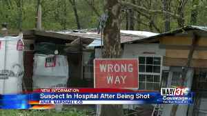 News video: Suspect in Hospital After Being Shot