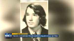 News video: Group of friends concerned Wisconsin prison guard's killer could go free