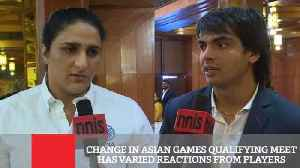 Change In Asian Games Qualifying Meet Has Varied Reactions From Players [Video]